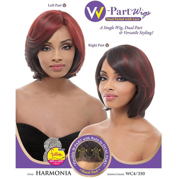 Janet Collection W-Part Lace Front Wig (Dual Part & Color) - HARMONIA