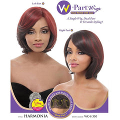 Janet Collection W-Part Wig (Dual Part & Color) - HARMONIA