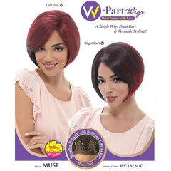 Janet Collection W-Part Wig (Dual Part & Color) - MUSE
