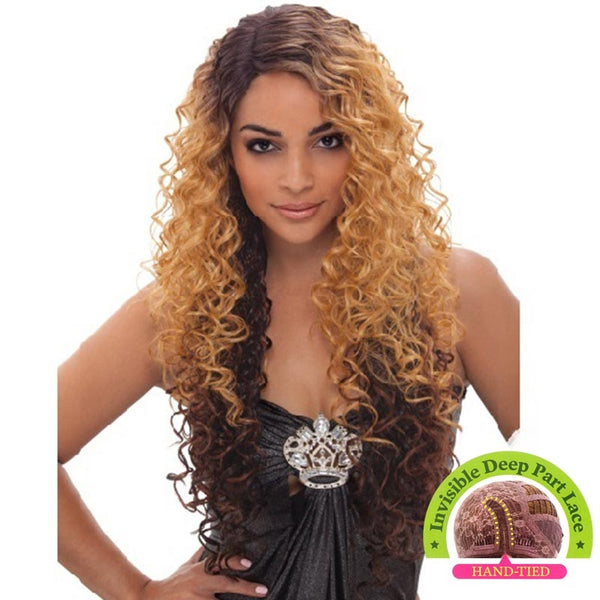 Janet Collection Super Flow Deep Part Lace Wig - YURI
