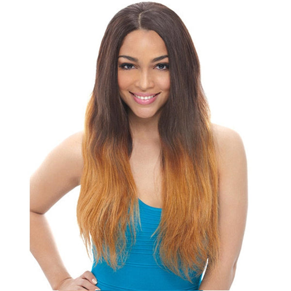 Janet Unprocessed Human Hair Lace Wig - BRAZILIAN LACE NATURAL WIG 22""