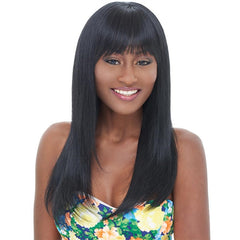 Janet Collection Remy Human Hair Wig - MINNA WIG
