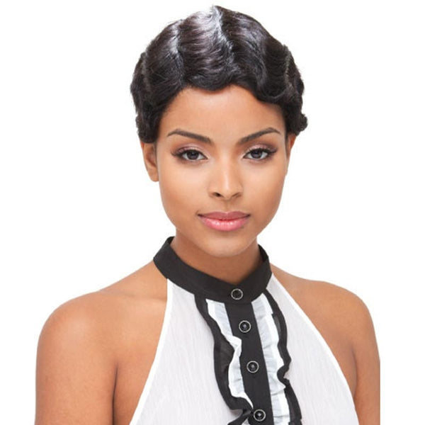 Janet Collection 100% Pure Remy Human Hair Wig - MOMMY1
