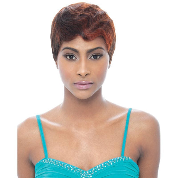 Janet Collection 100% Pure Remy Human Hair Wig - MOMMY4