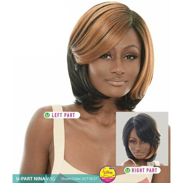 Janet Collection U-Part Wig (Dual Part & Color) - NINA