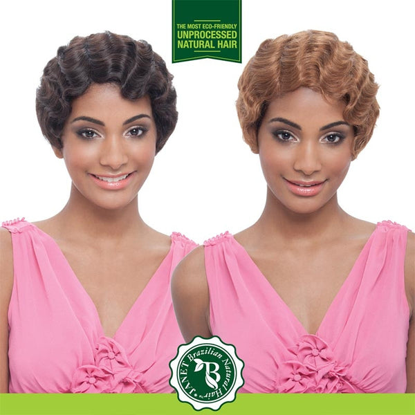 Janet Unprocessed Human Hair Wig - BRAZILIAN NATURAL MOMMY