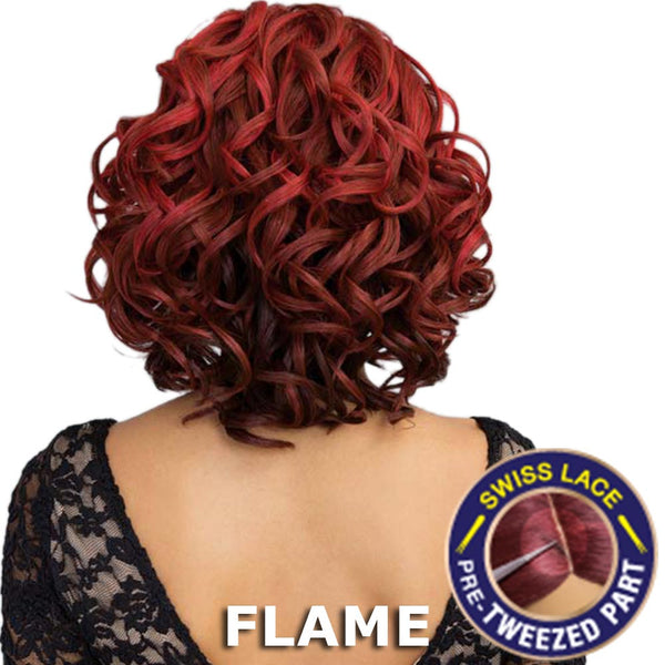 Janet Brazilian Scent Pre-Tweezed Part Full Wig - VORIA