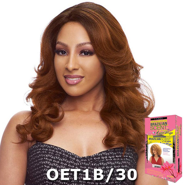Janet Brazilian Scent Human Hair Blend Lace Front Wig - ALYSIA