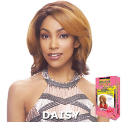 Janet Brazilian Scent Human Hair Blend Lace Front Wig - ASHA