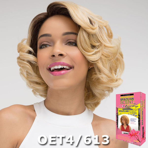Janet Brazilian Scent Human Hair Blend Lace Front Wig - FIONA
