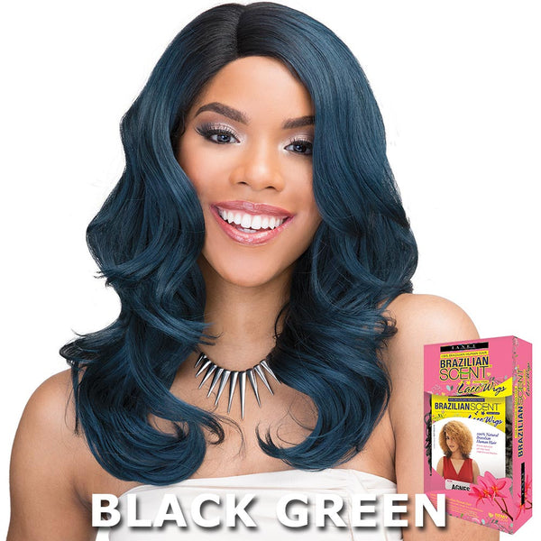 Janet Brazilian Scent Human Hair Blend Lace Front Wig - LUDIAN