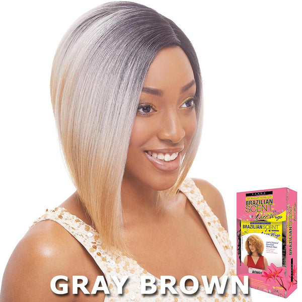 Janet Brazilian Scent Human Hair Blend Lace Front Wig - SARAH