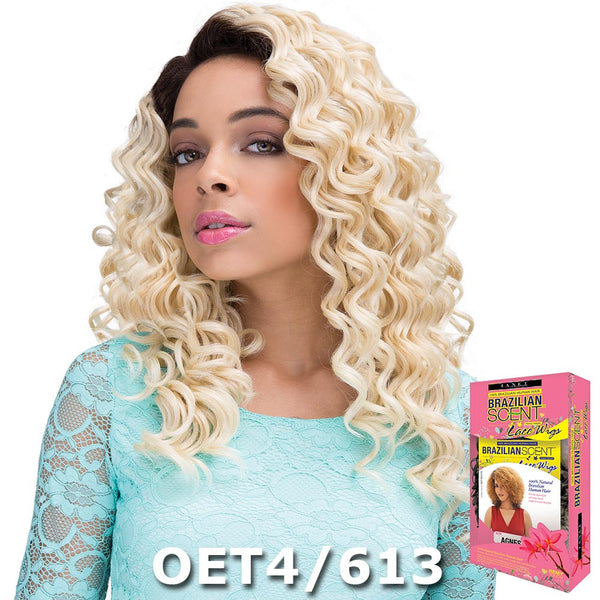 Janet Brazilian Scent Human Hair Blend Lace Front Wig - TEVA