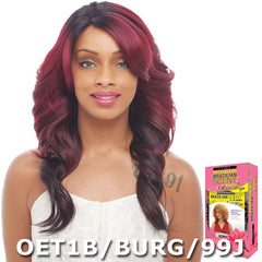 Janet Collection Brazilian Scent 100% Human Hair Lace Wig - BELLA