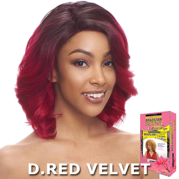 Janet Collection Brazilian Scent 100% Human Hair Lace Wig - LAUREN