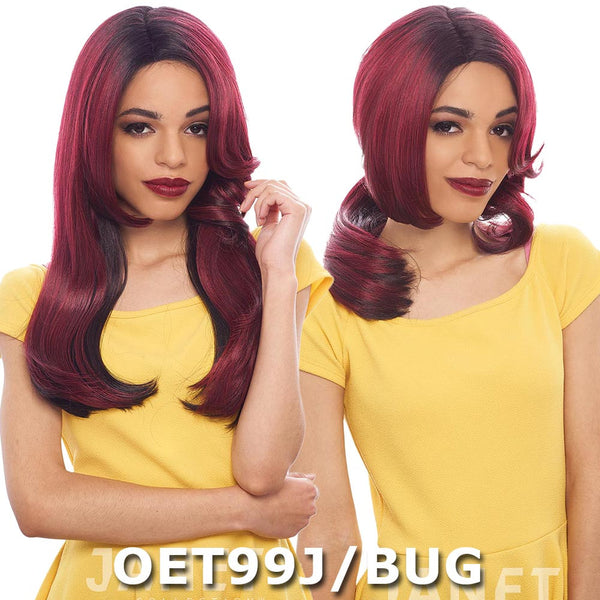 Janet Collection Two Block Lace Wig - DIVA (2 in 1 Style)