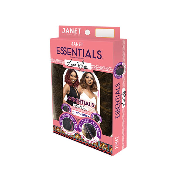 Janet Essentials Ear-to-Ear Deep Part Lace Front Wig - KOURTNEY