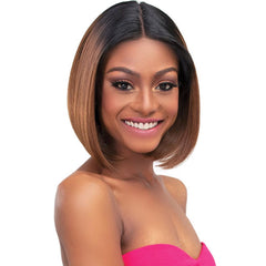 Janet HD Melt Transparent Hairline Extended Part Lace Front Wig - AVA