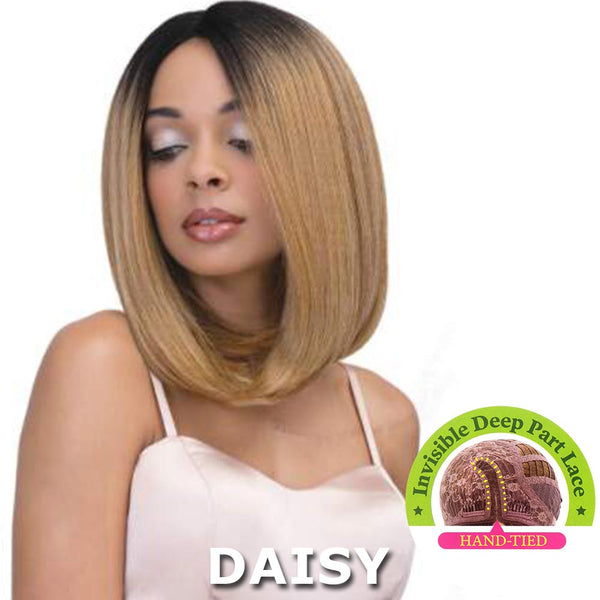 Janet Collection Super Flow Deep Part Lace Wig - SUNNY
