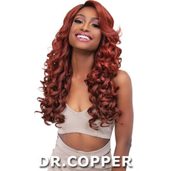 Janet Melt Natural Hairline Extended Part Lace Front Wig - JULIE
