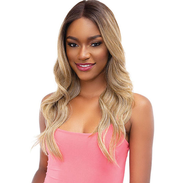Janet Melt Natural Hairline Extended Part Lace Front Wig - MERCY