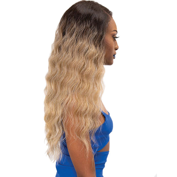 Janet Melt Natural Hairline Extended Part Lace Front Wig - SWAN