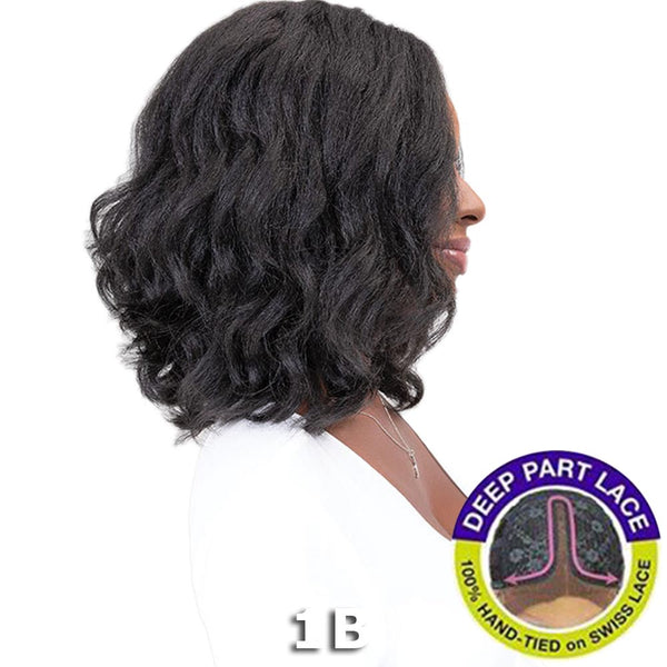 Janet Natural Me Yaky Texture Hair Lace Front Wig - JODE