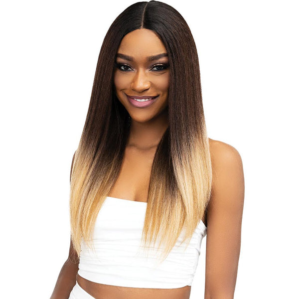 Janet Natural Me Lite Blowout Texture Hair Lace Front Wig - IMAN