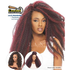 Janet Noir 100% Kanekalon Braid - 3X AFRO MARLEY TWIST BRAID