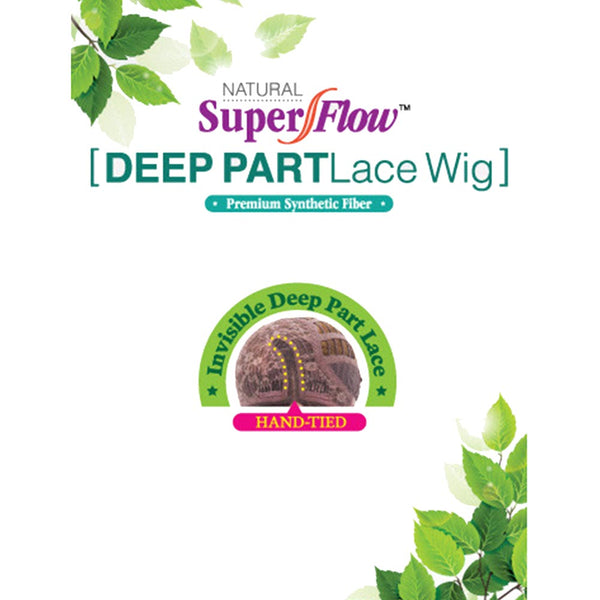 Janet Collection Super Flow Deep Part Lace Wig - CAPRI