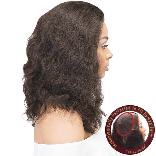 Janet Collection Unprocessed Hair 360 Lace Wig - NATURAL 18""
