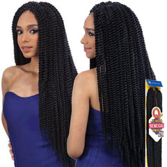 Que Braid Hair - JUMBO SENEGAL TWIST 2X