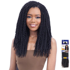 FreeTress Synthetic Hair Braid - PRE-CURLED JAMAICAN BRAID