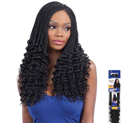 FreeTress Synthetic Hair Braid - PRE-CURLED LUSTY TWIST