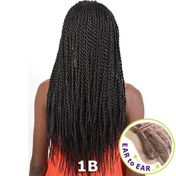 "BeShe Braid Lace Front Wig - LACE-SEN - SENEGAL TWIST (26"")"