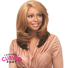 "Sensationnel Empress Cut & Blend ""C"" Part Lace Front Wig - GOLDIE"