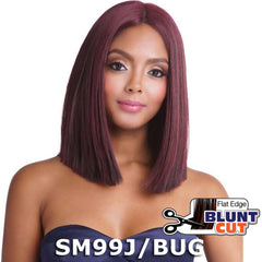 "Brown Sugar Human Hair Blend Full Wig - BS134 (14"")"