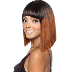 Melanin Queen Human Hair Blend Full Wig - ML103
