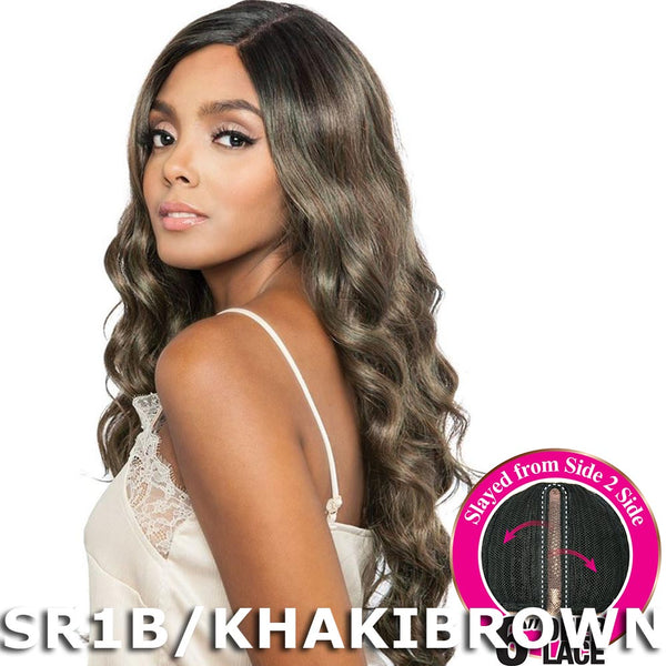 "Brown Sugar Side-2-Side 6"" Deep Lace Wig - BSD2602 ROME ARI"
