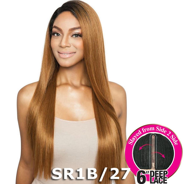 "Brown Sugar Side-2-Side 6"" Deep Lace Wig - BSD2604 NYC ARI"