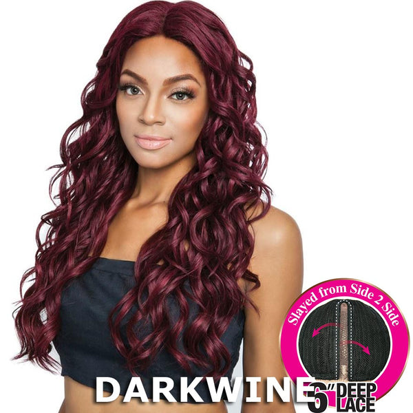 "Brown Sugar Side-2-Side 6"" Deep Lace Wig - BSD2605 VEGAS ARI"