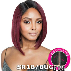 "Brown Sugar Side-2-Side 6"" Deep Lace Wig - BSD2606 PHEONIX ARI 12"""