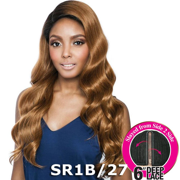 "Brown Sugar Side-2-Side 6"" Deep Lace Wig - BSD2608 PHILLY ARI"