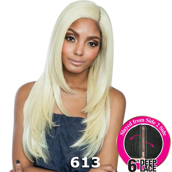 "Brown Sugar Side-2-Side 6"" Deep Lace Wig - BSD2609 CLEVERLAND ARI"