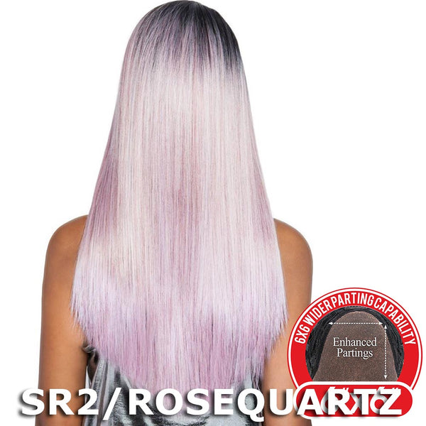 "Red Carpet Premiere 6""X6"" Wide Part Lace Wig - RCP6604 LINDA (24"")"