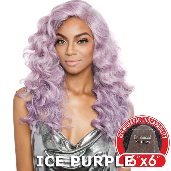 "Red Carpet Premiere 6""X6"" Wide Part Lace Wig - RCP6606 ADDILYN (22"")"