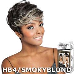 Melanin Queen Human Hair Blend Full Wig - ML102