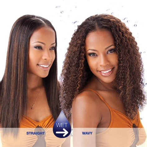 MILKY WAY 100% Human Hair Weave - INDIAN BRAZILIAN CURL (Wet & Wavy)