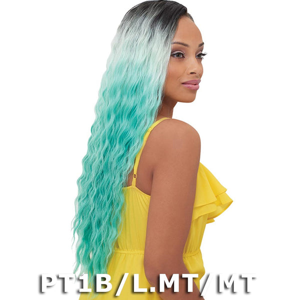 Janet Encore Human Hair Mix Pastel Weave - NATURAL LOOSE WAVE 7PCS