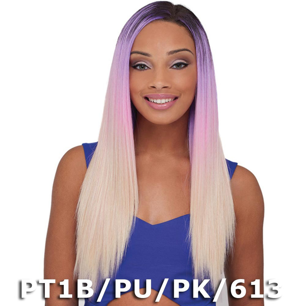 Janet Encore Human Hair Mix Pastel Weave Natural Yaki 7pcs